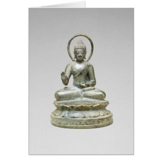 """""""Seated Transcendent Buddha"""" Note Card"""