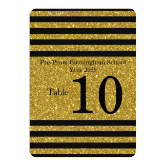 Seating Card, Place card, list behind,Strip black Card