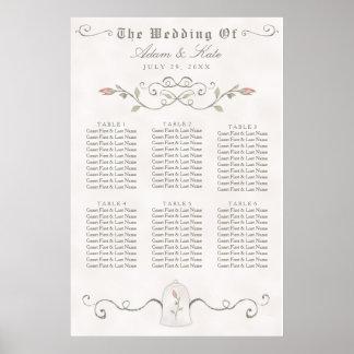 SEATING CHART 31 - 60 | Elegant Beauty Wedding