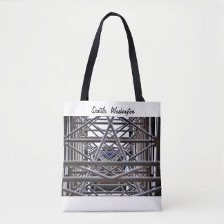 Seattle 2017 Urban Photography Ferris Wheel Bag