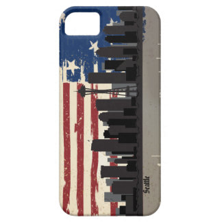 Seattle American Cities CityScape iPhone 5 Cover