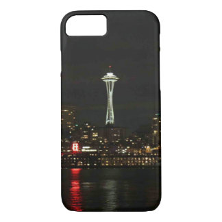 Seattle at Night iPhone 7 Case