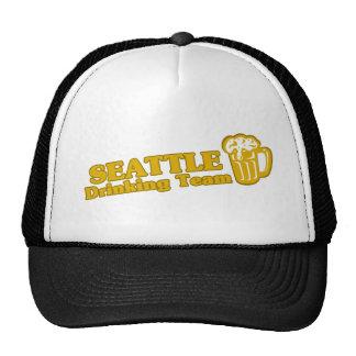 Seattle Drinking Team tee shirts Trucker Hat
