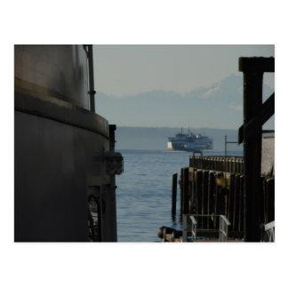 Seattle Ferry Postcard