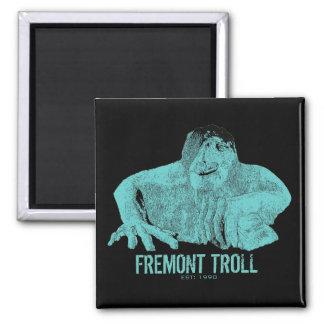 Seattle Fremont Troll Magnet