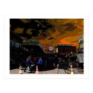 Seattle Funk Postcards