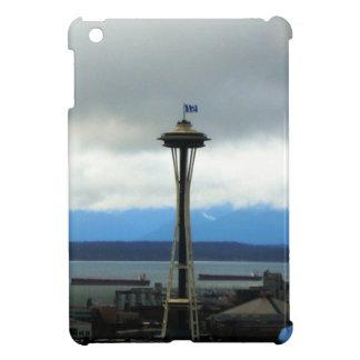 Seattle Landmark with Football Team Spirit iPad Mini Cover