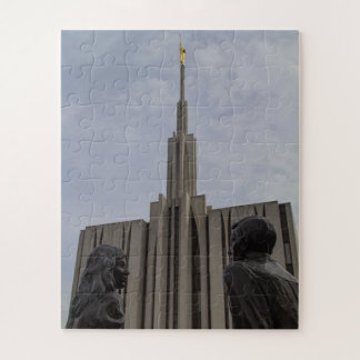 Seattle LDS Temple Jigsaw Puzzle
