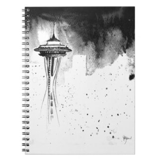 Seattle Mists Notebook