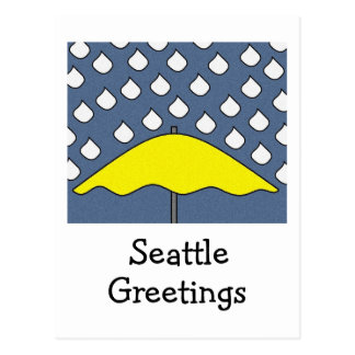 SEATTLE POST CARD