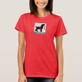 Seattle Pup Women's Red T-Shirt