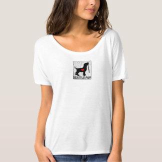 Seattle Pup Women's Shirt (white)