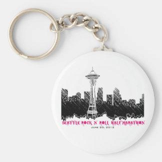 Seattle Rock n Roll Half Marathon 2012 Keychain