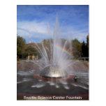 Seattle Science Centre Fountain Card Postcard
