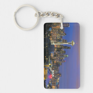 Seattle seen from Kerry Park in Queen Anne Key Ring