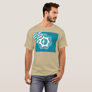 Seattle simplified city flag t-shirt