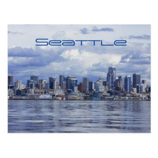 Seattle Sky Line Postcard