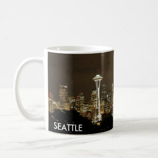 Seattle Skyline Coffee Cup