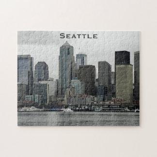 Seattle Skyline Jigsaw Puzzle