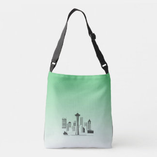 Seattle Skyline Messenger Bag
