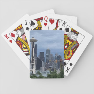 Seattle Skyline Playing Cards