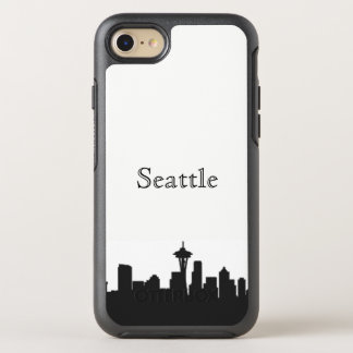 Seattle Skyline Silhouette Case