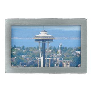 Seattle Skyline Space Needle Belt Buckle