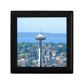 Seattle Skyline Space Needle Gift Box