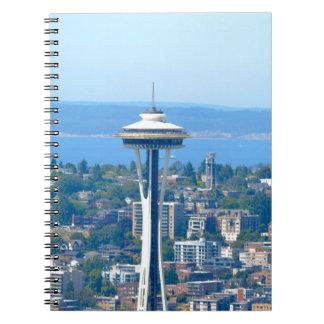 Seattle Skyline Space Needle Notebook