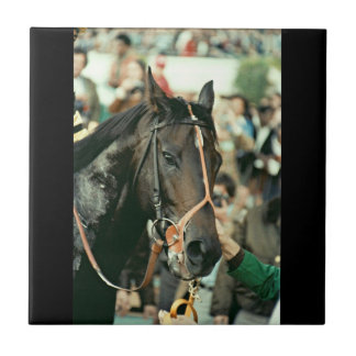 Seattle Slew Thoroughbred 1978 Tile