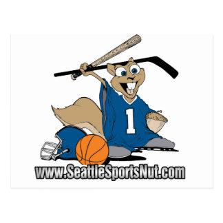 Seattle Sports Nut Post Card