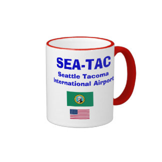 Seattle Tacoma* (SEA) International Airport Mug