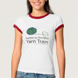Seattle to Portland Yarn Train Ringer T-shirt
