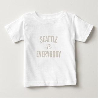 Seattle Vs Everybody Baby T-Shirt