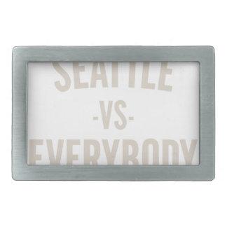 Seattle Vs Everybody Belt Buckle