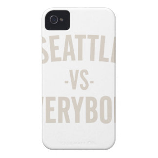 Seattle Vs Everybody iPhone 4 Case