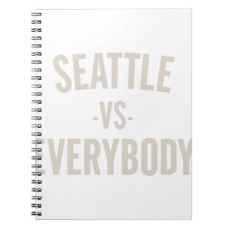 Seattle Vs Everybody Notebooks