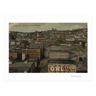 Seattle, WA - First Hill Postcards