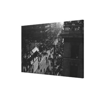 Seattle, WA Naval Parade on First and Spring Canvas Print