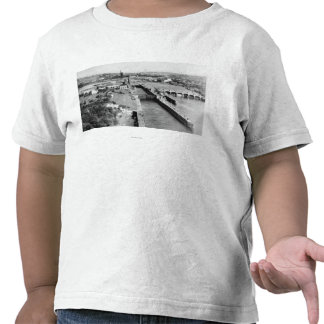Seattle, WA US Government Locks Ballard View Tee Shirts