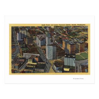 Seattle, Washington - Aerial of Smith Postcard