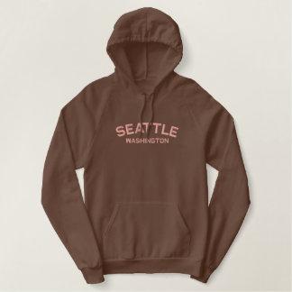 Seattle Washington Embroidered Shirt