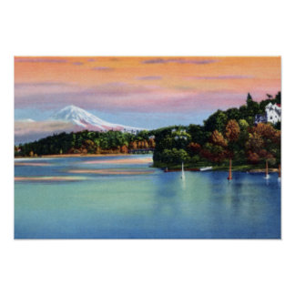 Seattle Washington Mount Rainier Poster