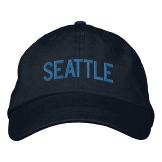 Seattle Washington Personalized Adjustable Hat Embroidered Hat