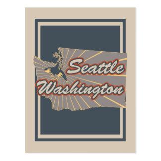 Seattle, Washington Postcard - Travel Postcard v2