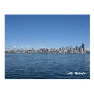 Seattle Washington Skyline Postcard