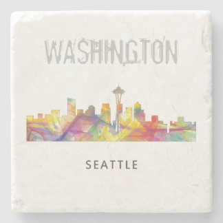 SEATTLE WASHINGTON SKYLINE WB1 - STONE COASTER
