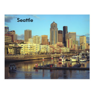 Seattle Washington state Postcard