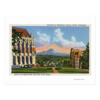 Seattle, Washington - University of Washington Postcard