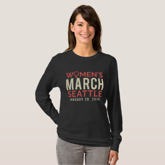 Seattle Washington Women's March January 20 2018 T-Shirt